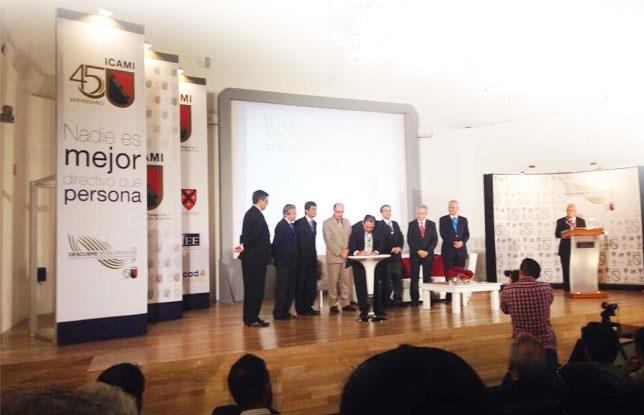 Firma en México del acuerdo para la formación de la Middle Management International Alliace, por España, ICADA