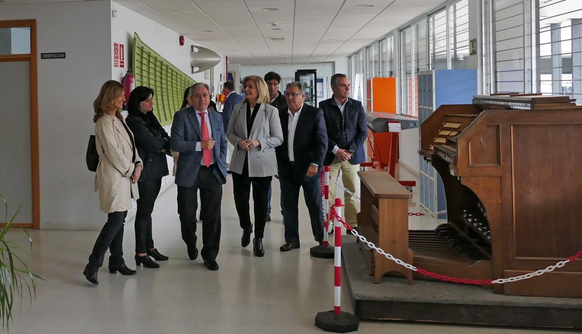 visita de Juan Ignacio Zoido ex Ministro del Interior y Fátima Bañez ex Ministra de Empleo y Seguridad Social