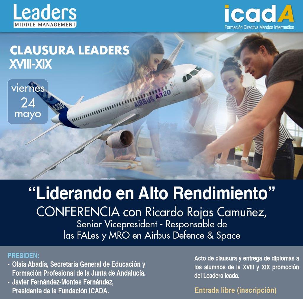 clausura leaders 18 y 19 promoción Airbus